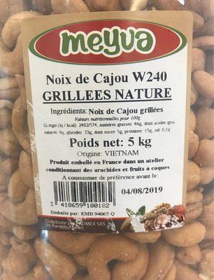 Noix de Cajou Grillées Nature - Product - fr