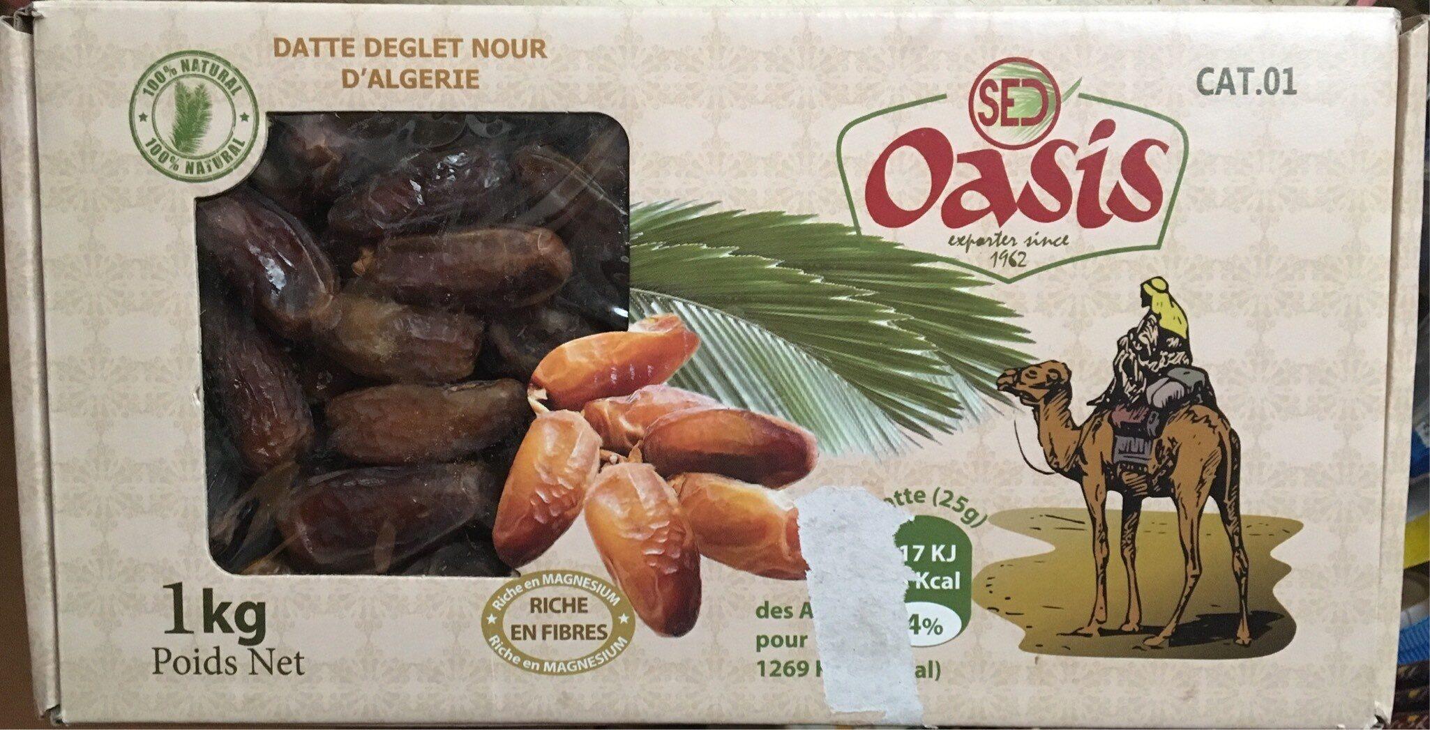 Dattes Deglet Nour d'Algérie - Product