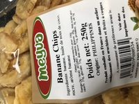 Banane chips - Ingredients - fr