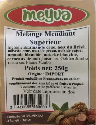 Mélange Mendiant Supérieur - Product - fr