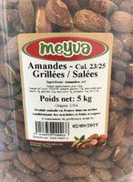 Amandes Grillées / Salées - Product - fr