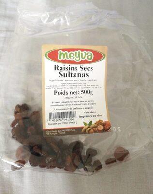 Raisain sec sultanas - Product - fr