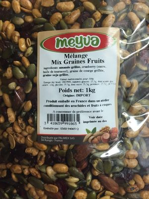 Melange mix graines fruit - Product - fr