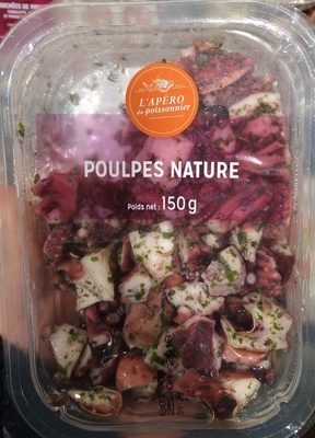 Poulpes nature - Product