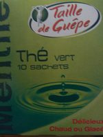 Thé Vert Menthe - Produit - fr