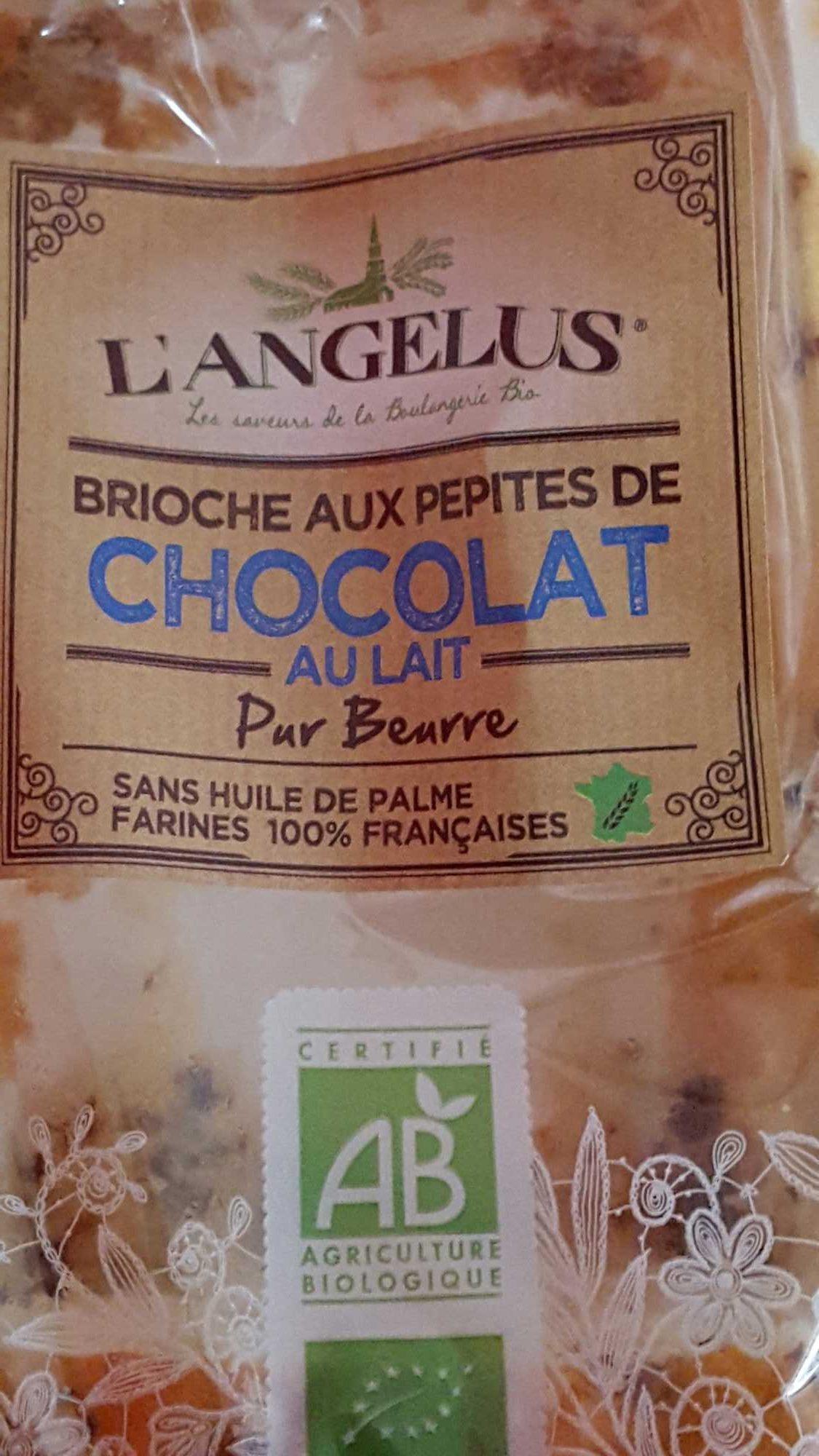 Brioche aux pépites de chocolat au lait pur beurre - Produit - fr