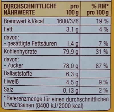Choco Drink - Informations nutritionnelles - de
