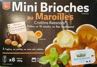 Mini brioches au Maroilles - Product