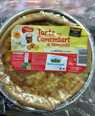 Tarte au Camembert de Normandie - Product - fr