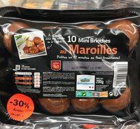 10 Mini Brioches au Maroilles - Produit