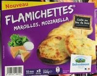 Flamichettes Maroilles, Mozzarella - Product