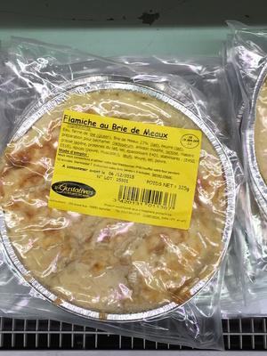 Flamiche au Brie de Meaux - Product - fr
