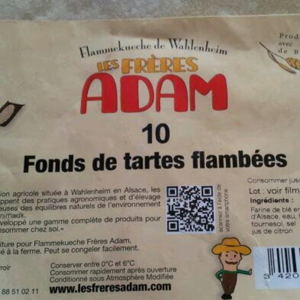 Fonds pour flammenkuche - Produit - fr