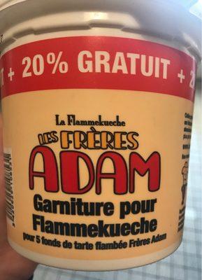 Garniture pour Flammekueche - Produit - fr
