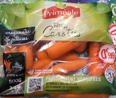 Petites carottes - Produit