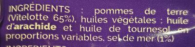 La Blue Chips - Ingrédients - fr