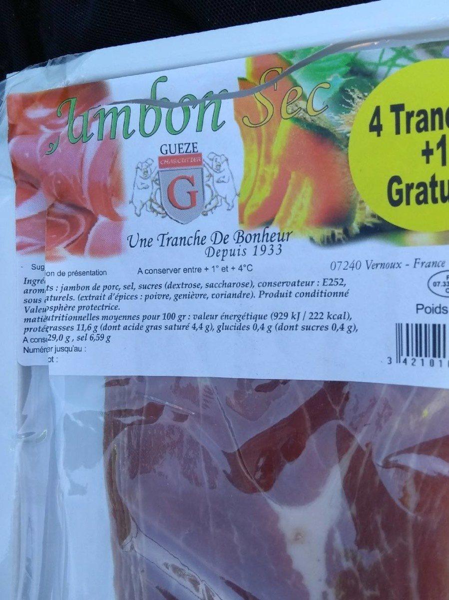Jambon Cru - Produit - fr