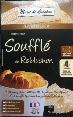Soufflé au reblochon - Product - fr