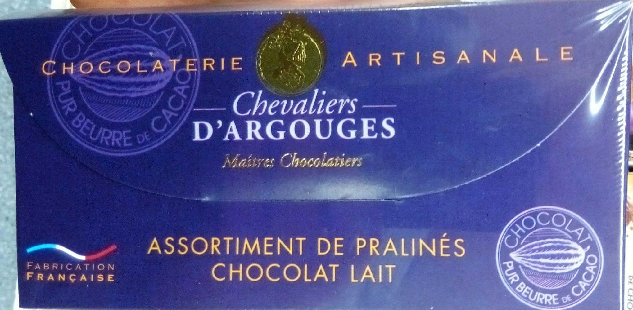 Assortiment de pralinés chocolat lait - Product