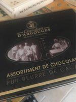 Assortiment de chocolats Chevaliers D'Argouges - Product