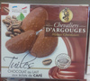 Tuiles Chocolat au Lait aux Éclats de Café - Product