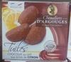 Tuiles Chocolat au Lait aux Éclats de Citron - Product