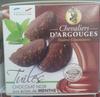 Tuiles Chocolat Noir aux Éclats de Menthe - Product