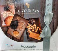 Assortiment de mendiants chocolat au lait - Produit - fr