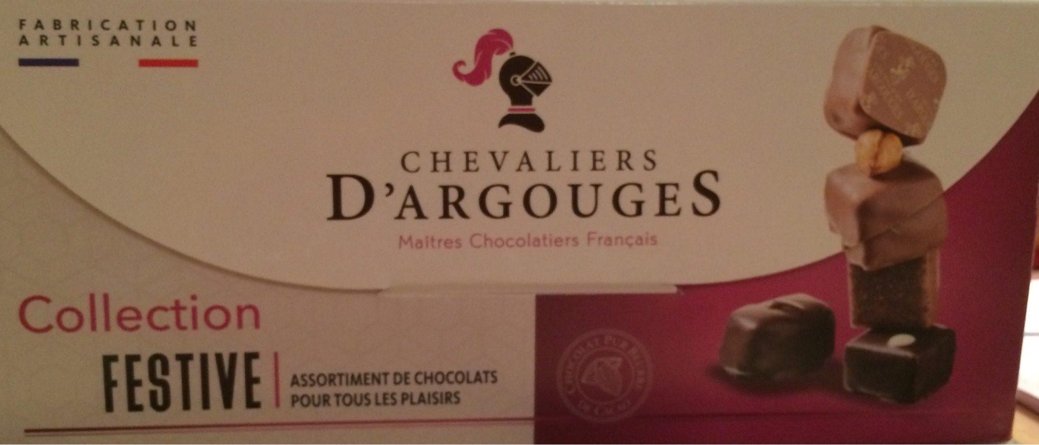 Chocolats chevaliers d'argouges - Product