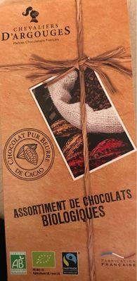 Assortiment de chocolats bio - Produit - fr