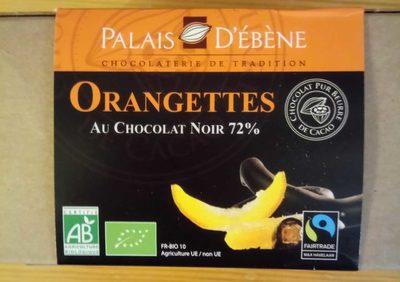 Orangettes - Lamelles d'écorces d'orange confites enrobées de chocolat noir - Prodotto - fr