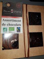 Assortiment De Chocolats Bio & équitable - Produit