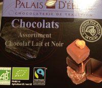 Assortiment Chocolat Lait et Noir - Product - fr