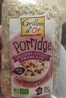 Porridge Raisins Figues Pruneaux - Produit - fr