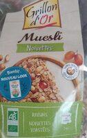 Muesli noisettes - Product - fr