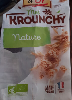 Mes krounchy nature - Product - fr