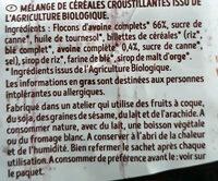Krounchy Nature - Ingrédients - fr