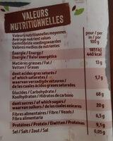 Krounchy Nature - Informations nutritionnelles - fr