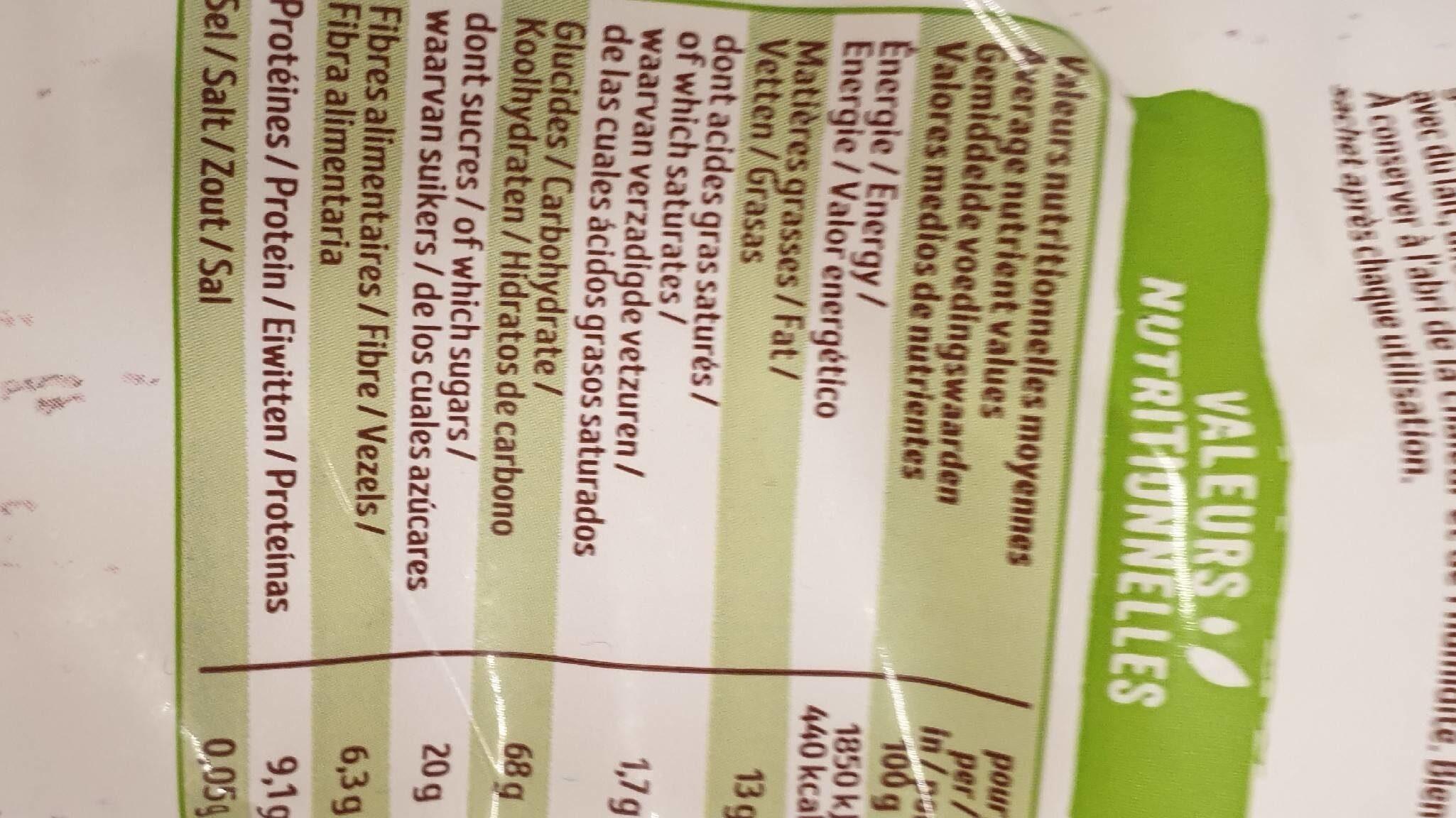 Krounchy nature - Voedingswaarden - fr
