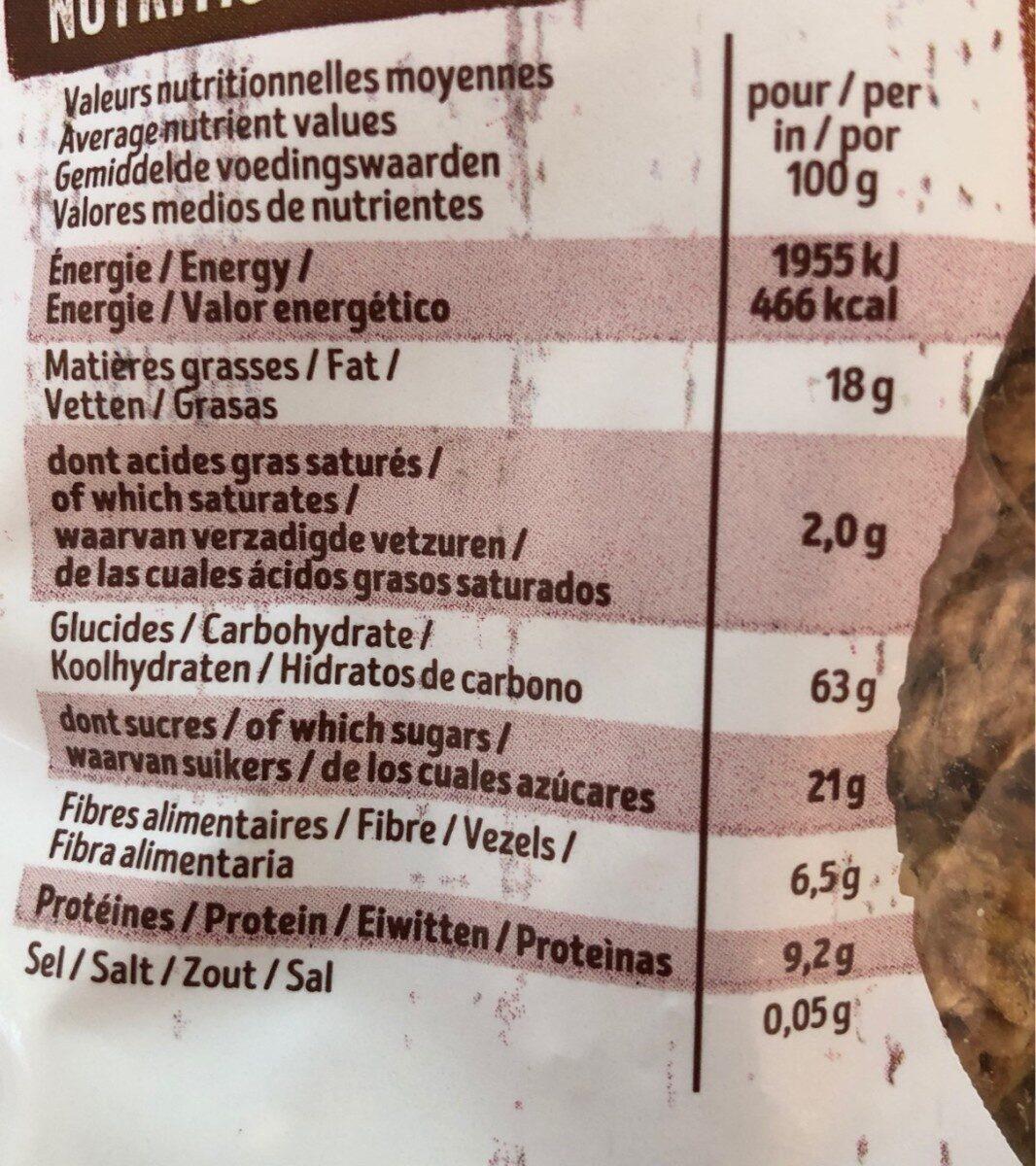 Krounchy - Informations nutritionnelles - fr