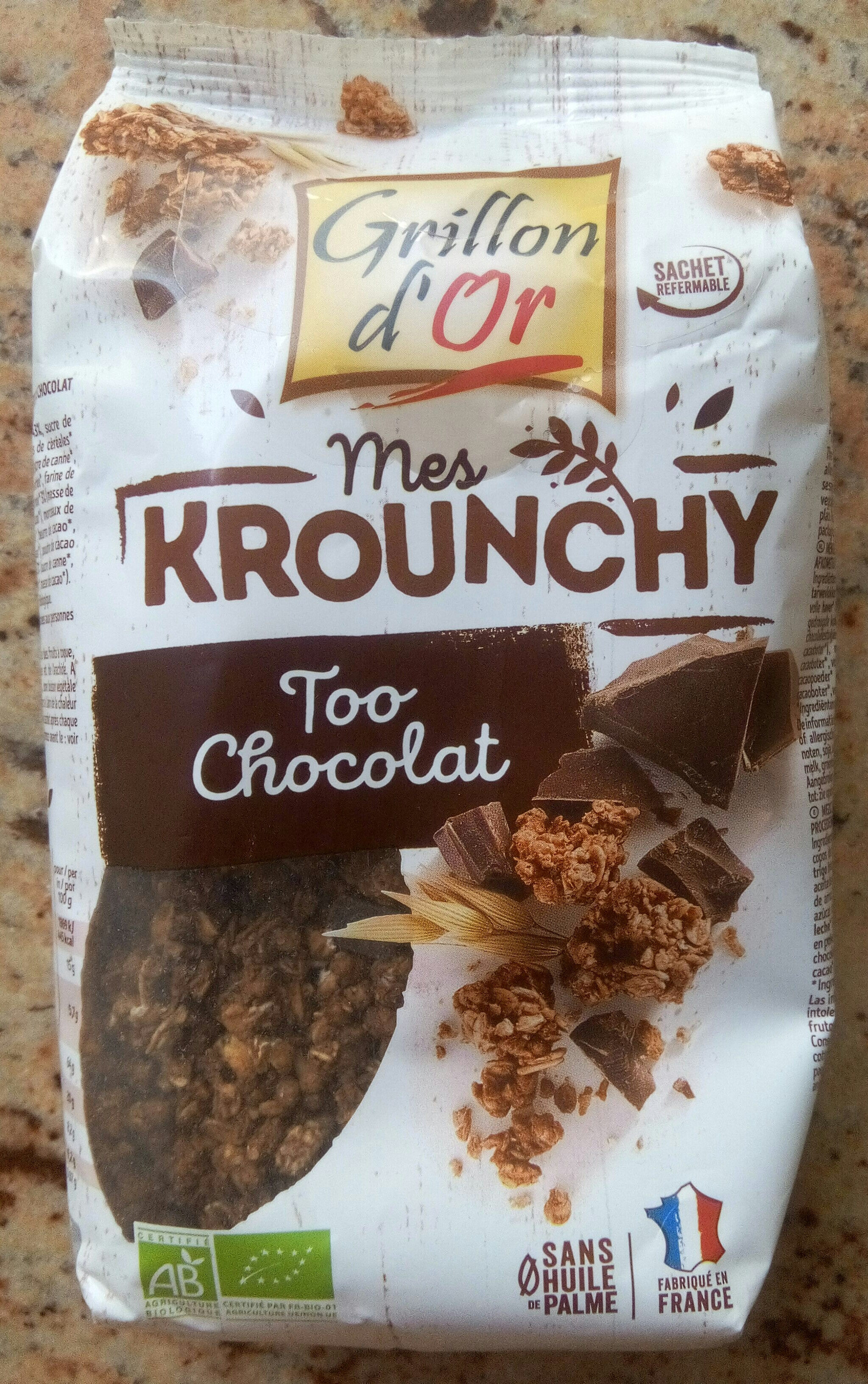 Krounchy too chocolat - Product