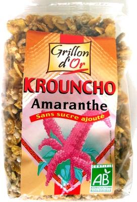 Krouncho Amaranthe - Produit