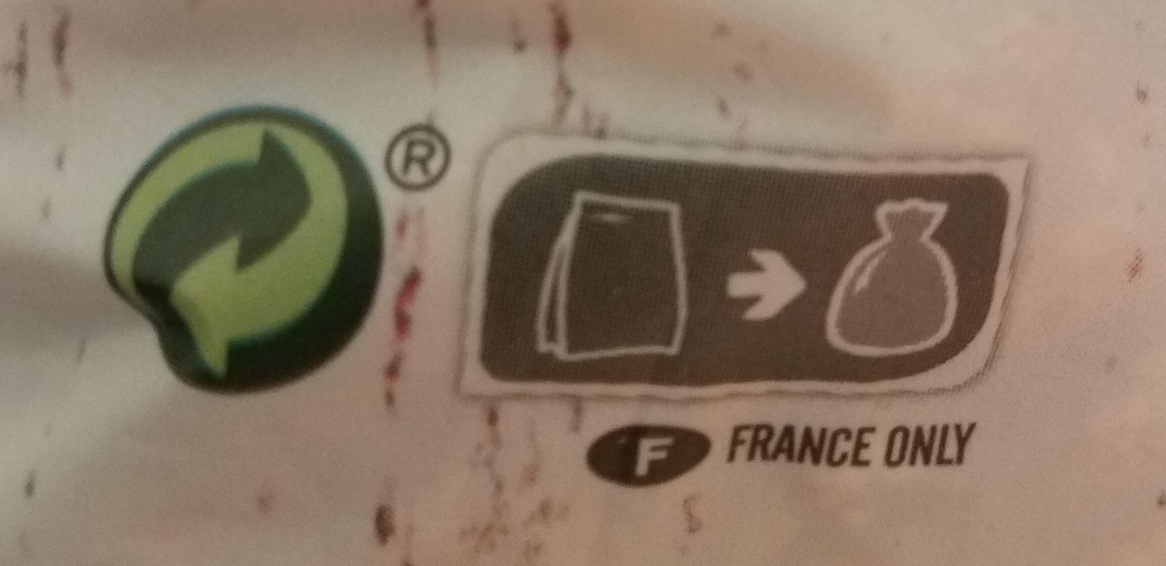 Krounchy chocolat - Instruction de recyclage et/ou informations d'emballage - fr