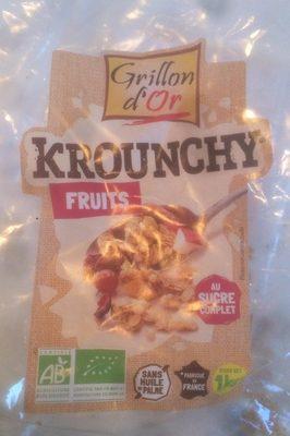 Krounchy fruits - Produit