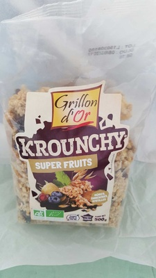 Krounchy Super Fruits - Product