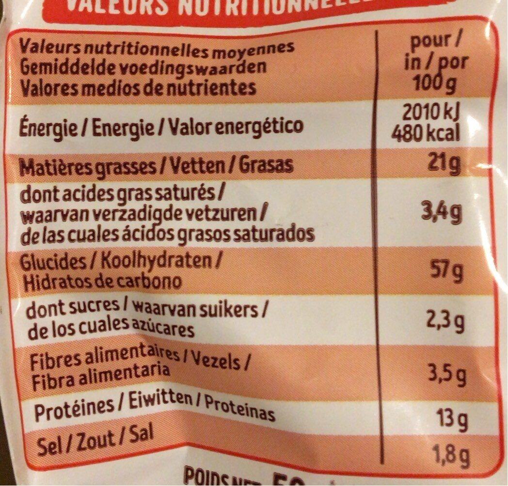 Croq' Soufflés - Informations nutritionnelles - fr