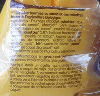 Ka'ré fourré choco noisettes - Ingredients - fr