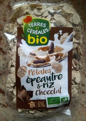 Pétales Epeautre complet et riz au chocolat - Product