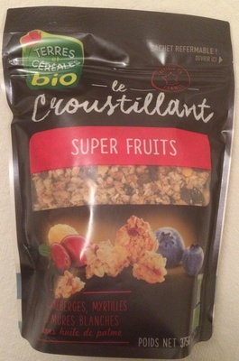 Le croustillant super fruits - Product
