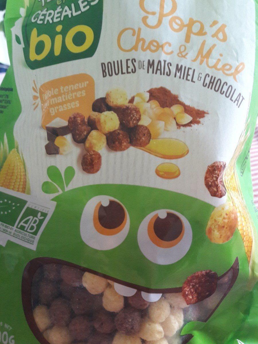 Pop's choc & miel - Ingrédients - fr